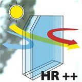 Isolatieglas HR++ (argon gevuld)