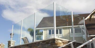 Windscherm van glas