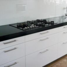keukenachterwand van glas