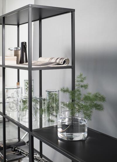 Glas voor vitrinekast